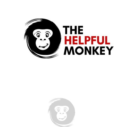 Unique monkey logo