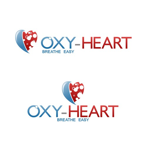 OXY-HEART logo design