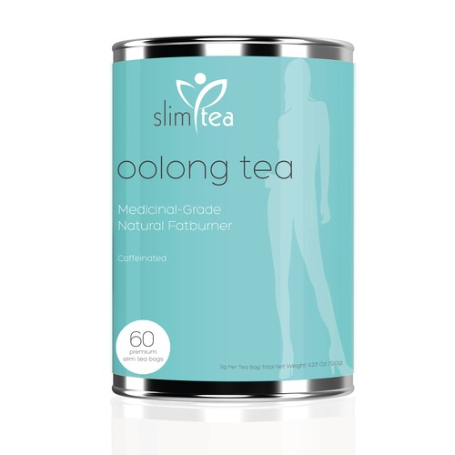 Design Package for Weight Loss Natural Tea