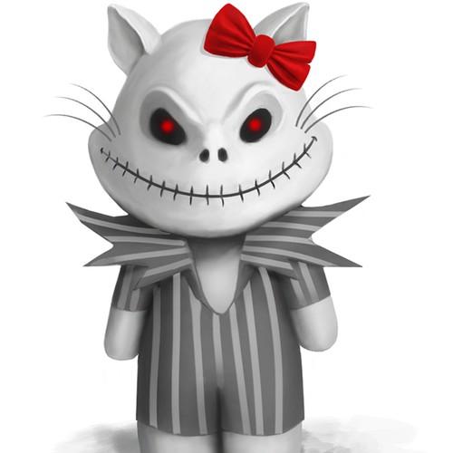 design for Skullo Kitty