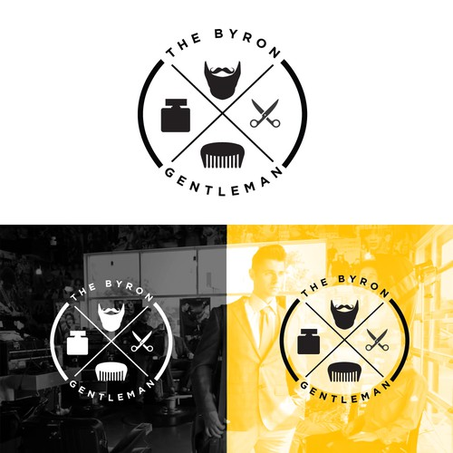 Logo design for The Byron Gentleman