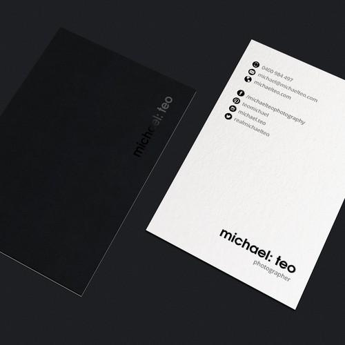 Duplex Business Cards