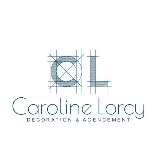 Logo pour Caroline Lorcy - Décoration & Agencement