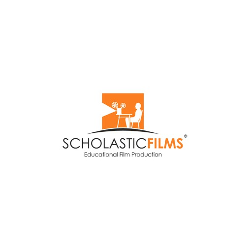 Clean logo for Scholastic Films