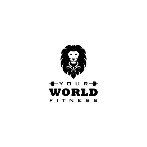 logo concept for Your World Fitness