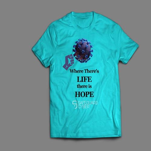 covid 19 t-shirt desgin