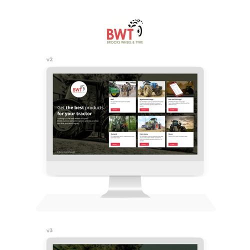 Landing page for Brocks Wheel & Tyre
