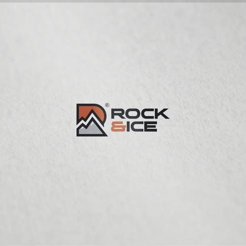 inisial R + mountain