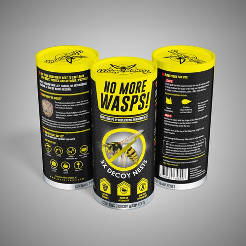 Packaging design for WaspAway