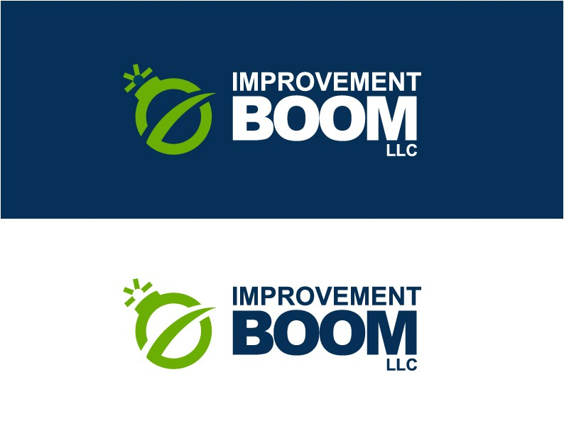 Create the next logo for Improvement Boom LLC