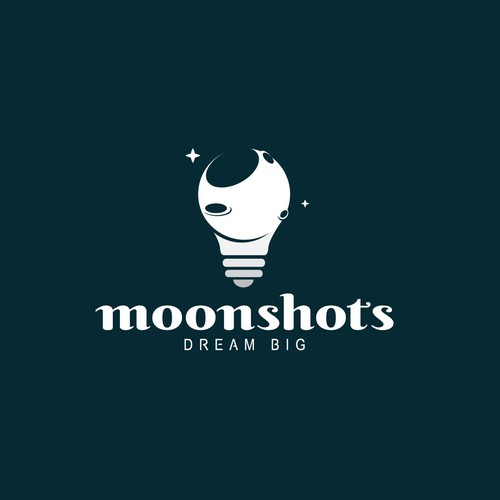 Logo concept for Moonshots company