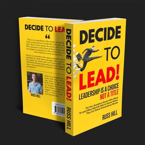 Decide Modern Book Cover Design
