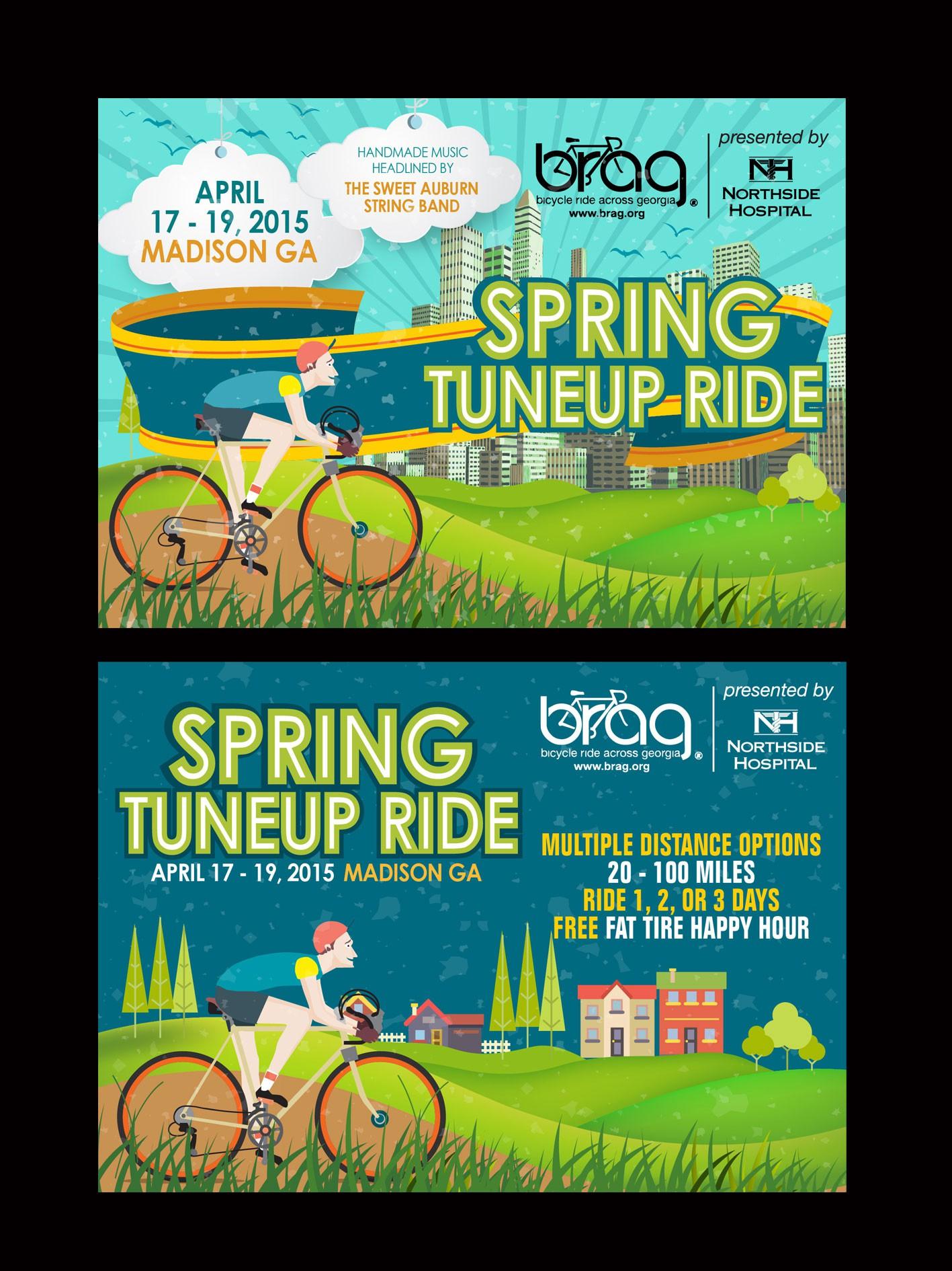 Handbill Design for Biking Festival