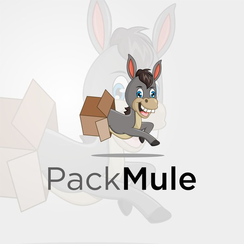 packmule logo concept