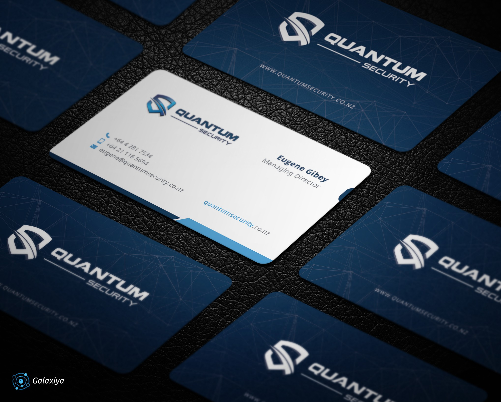 Create a new business card for a Cyber Security Consultancy