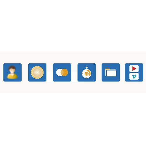 Create beautiful minimalist Icons.