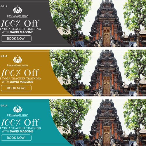Banner Design for PranaVayu Yoga