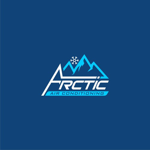 logo concept for arctic ari conditioning