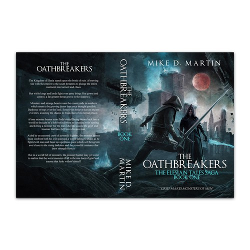 Book cover for The Oathbreakers by Mike D. Martin