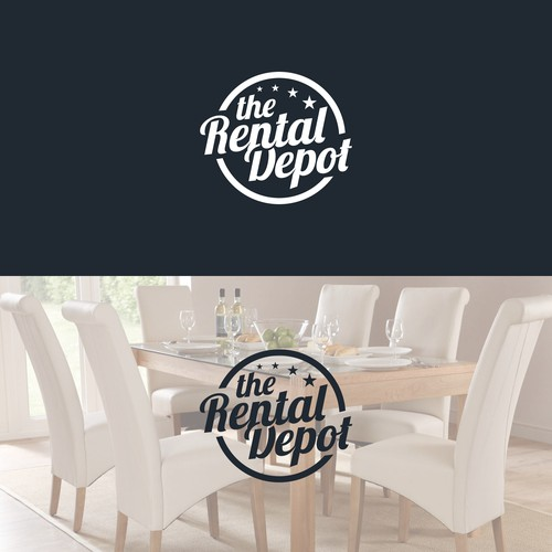"Logo design for ""The Rental Depot"""