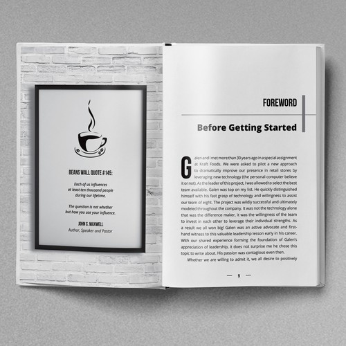 Book layout & design