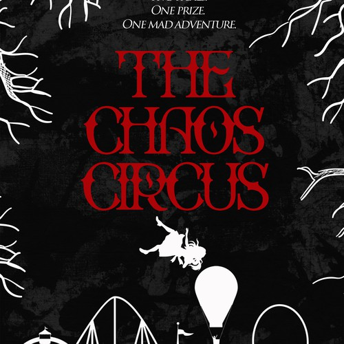 Book cover for young adult circus fantasy