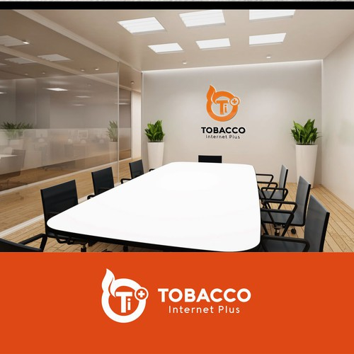 Logo Concept For Tobacco Internet Plus