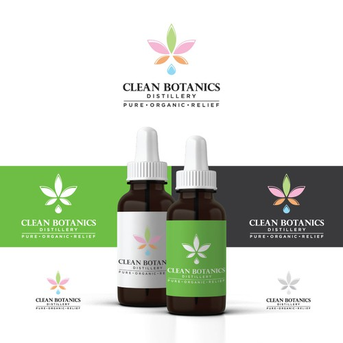 Logo for Clean Botanics Distillery
