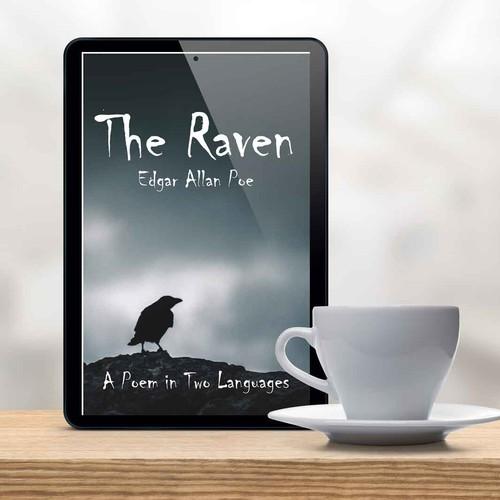 ebook cover for The Raven - Edgar Allan Poe