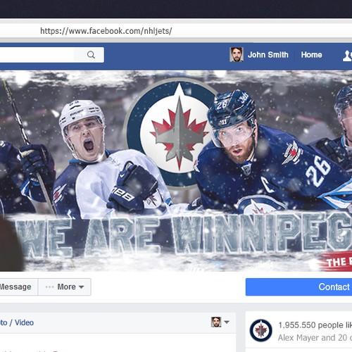 Winnipeg Jets, facebook cover