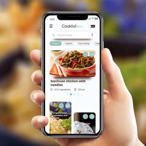 UI Design for FoodApp