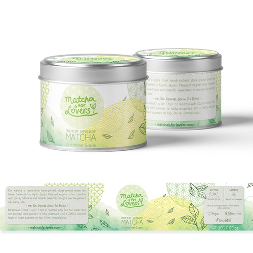 Tea Matcha Packaging