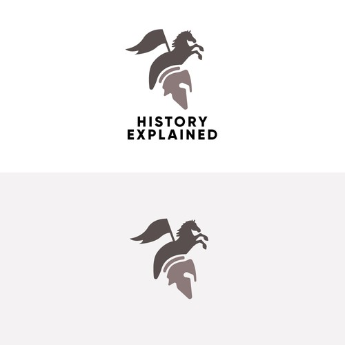 "Logo for Youtube channel ""History Explained"""