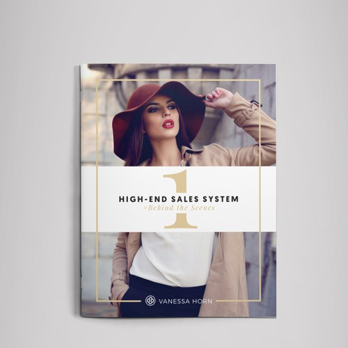 Luxury magazine feel workbook