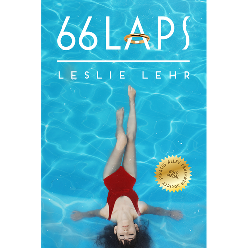 66 Laps by Leslie Lehr - Book Cover Design