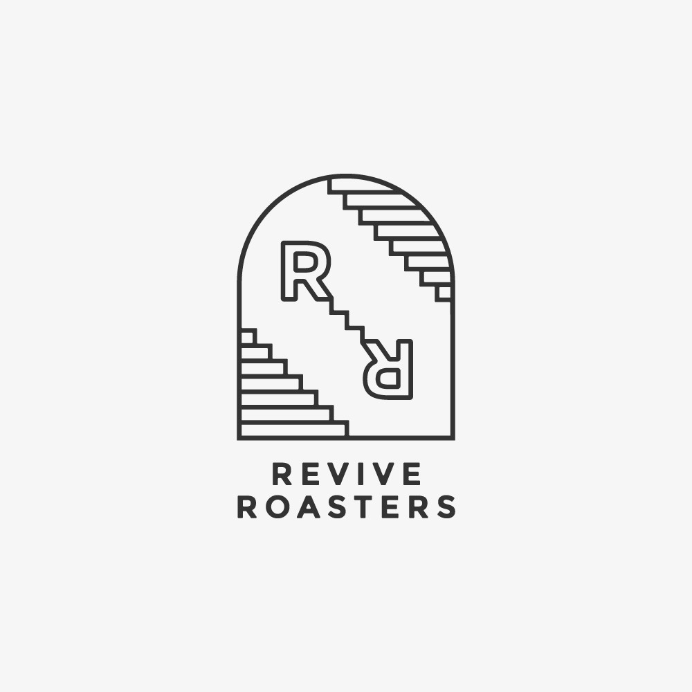 An urban style logo for a craft coffee shop aimed at young hipster and artistic people