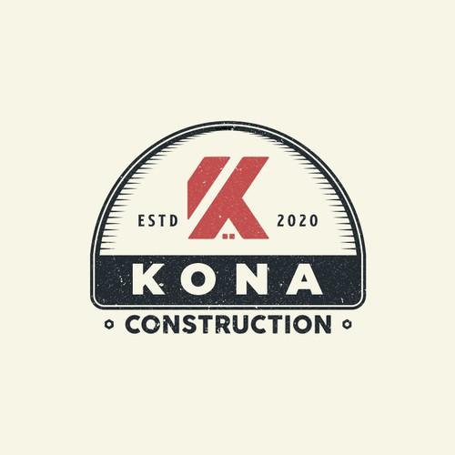 Kona Construction logo