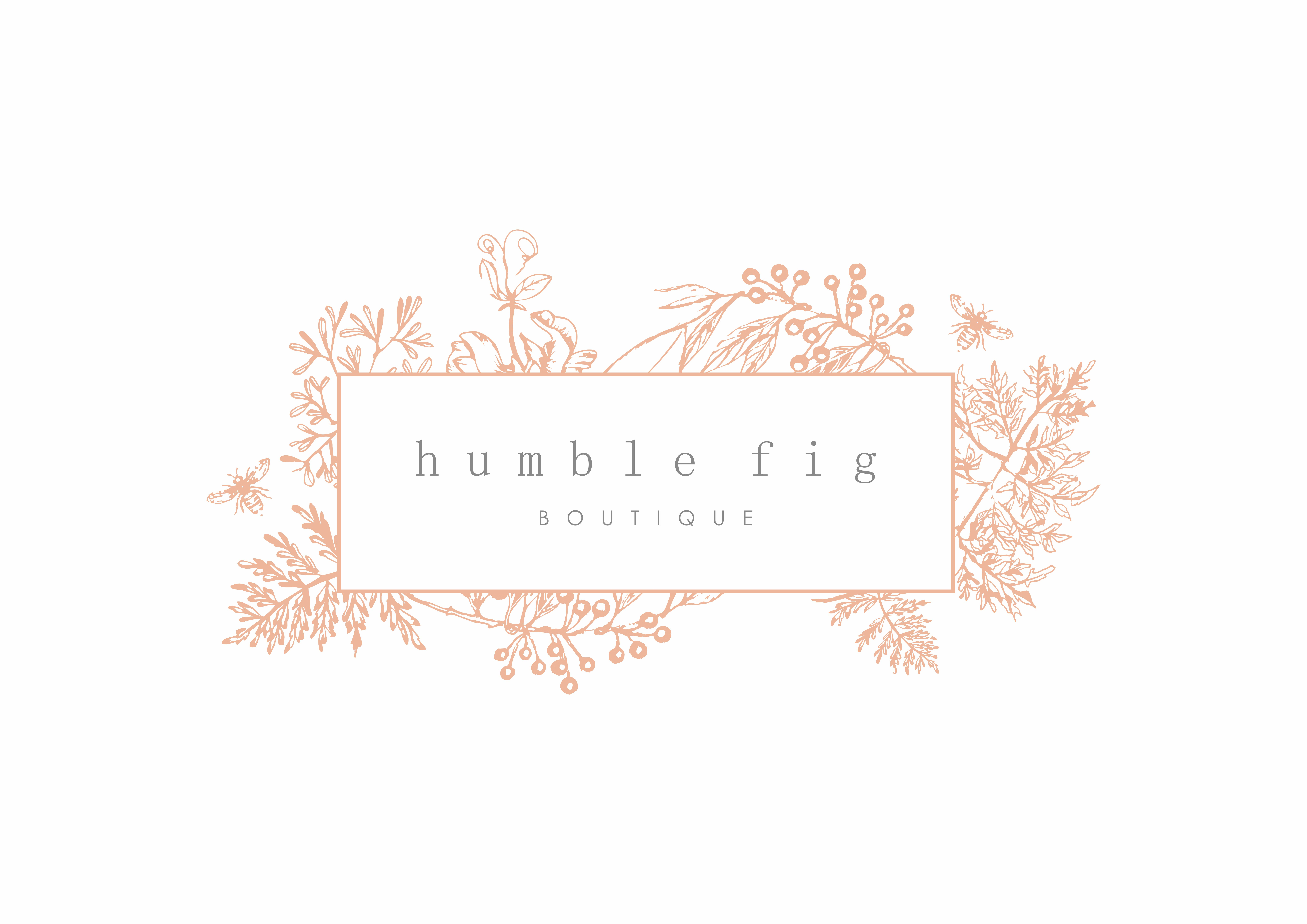 Create an Artistic Logo for Humble Fig, Women's Clothing Boutique