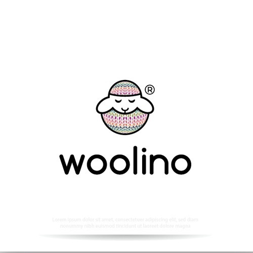 cute logo for merino wool baby and toddler sleepwear