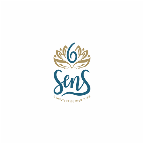 Attractive logo for 6 sens