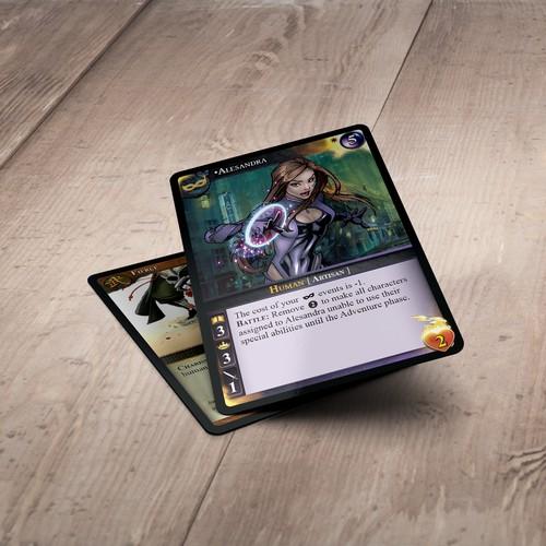 Collectible Card Design