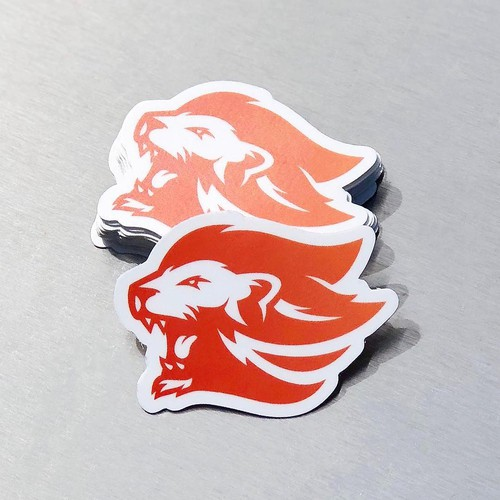 Lion Logo for Uproar Printing
