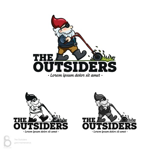 Logo design for The Outsiders