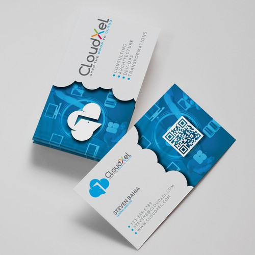 Logo & business card for CLOUDXEL