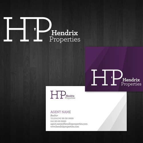 Help Hendrix Properties with a new logo and business card