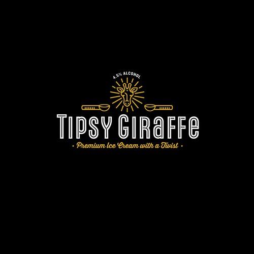 Tipsy Giraffe Logo