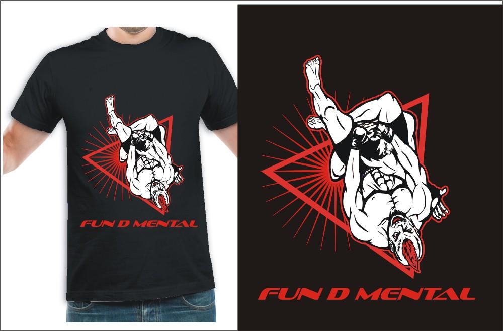 t-shirt design for Fun D. Mental, LLC