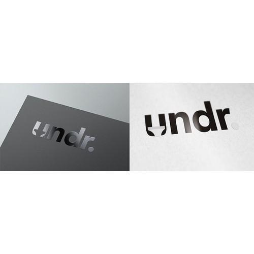 Bold logo for UNDR club