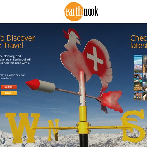 New Travel Website Design