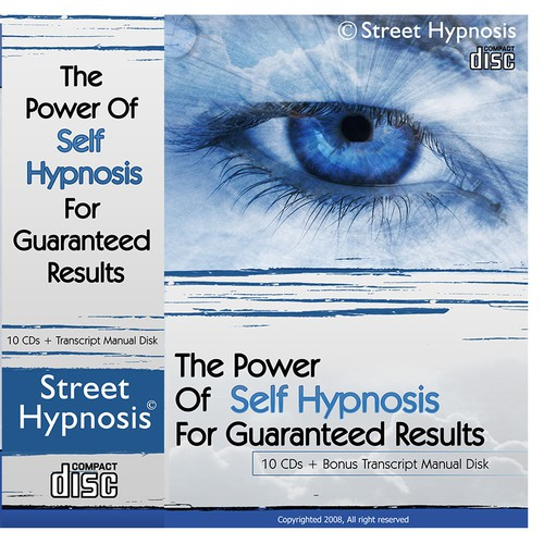DVD Cover Wrap For Self Hypnosis Course